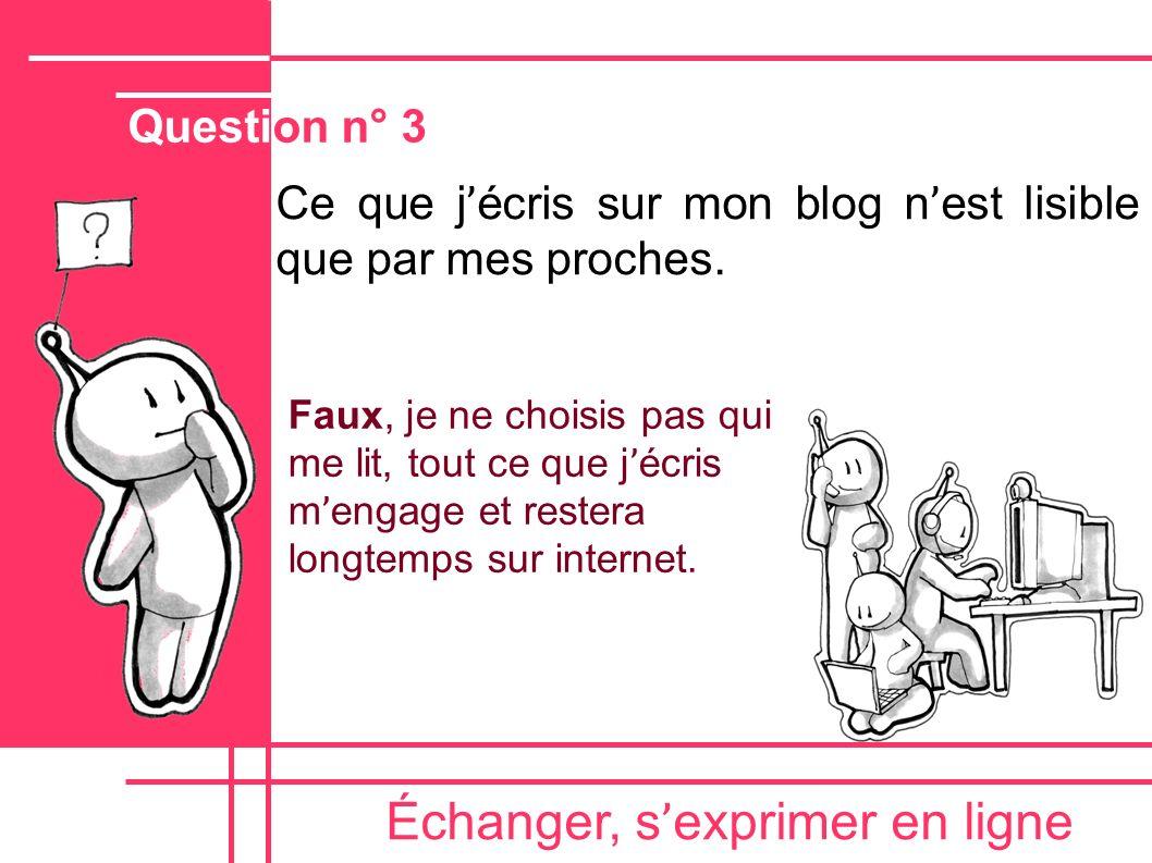 Échanger, s ' exprimer en ligne Écrire en lettres CAPITALES peut donner l ' impression que l ' on CRIE.
