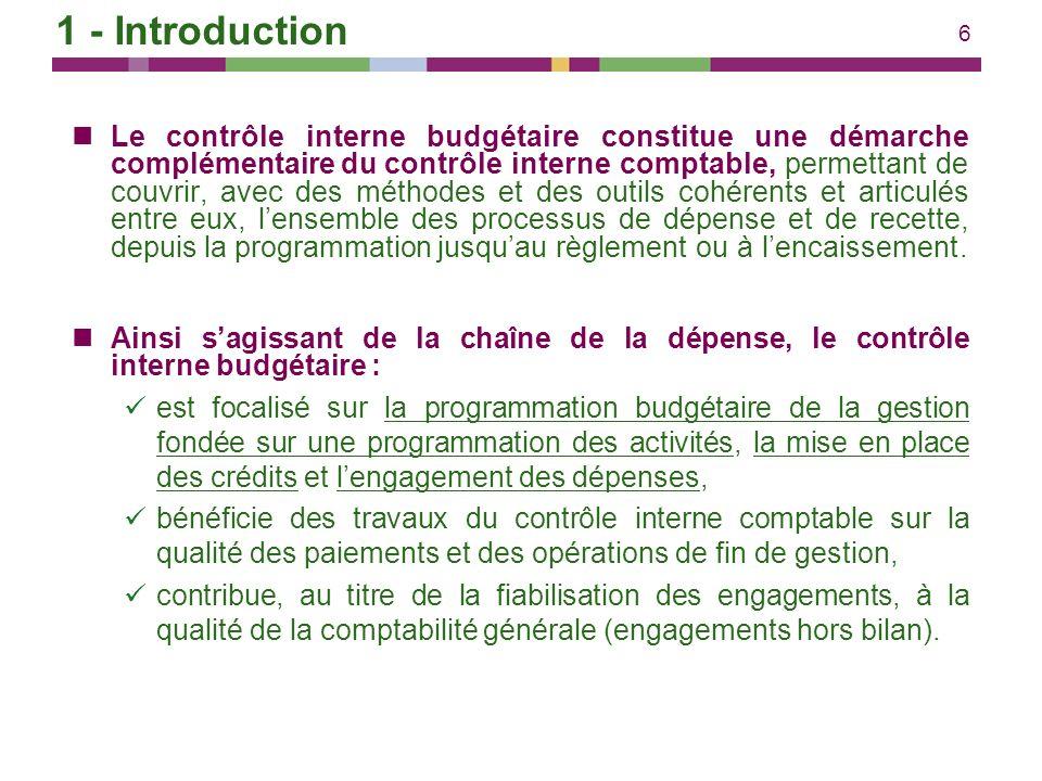57 Contrôles Contrôle de la qualité de la programmation et de sa conformité aux méthodes de programmation et au cadrage, y compris sur les prévisions de recettes.