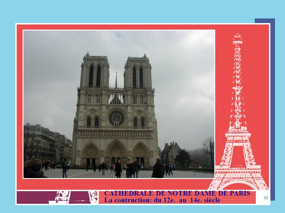 9 PARIS (ÎLE DE FRANCE) (Capitale du Pays) LA TOUR EIFFEL, construite en 1889, par Gustave Eiffel - Elle mesure 324 m