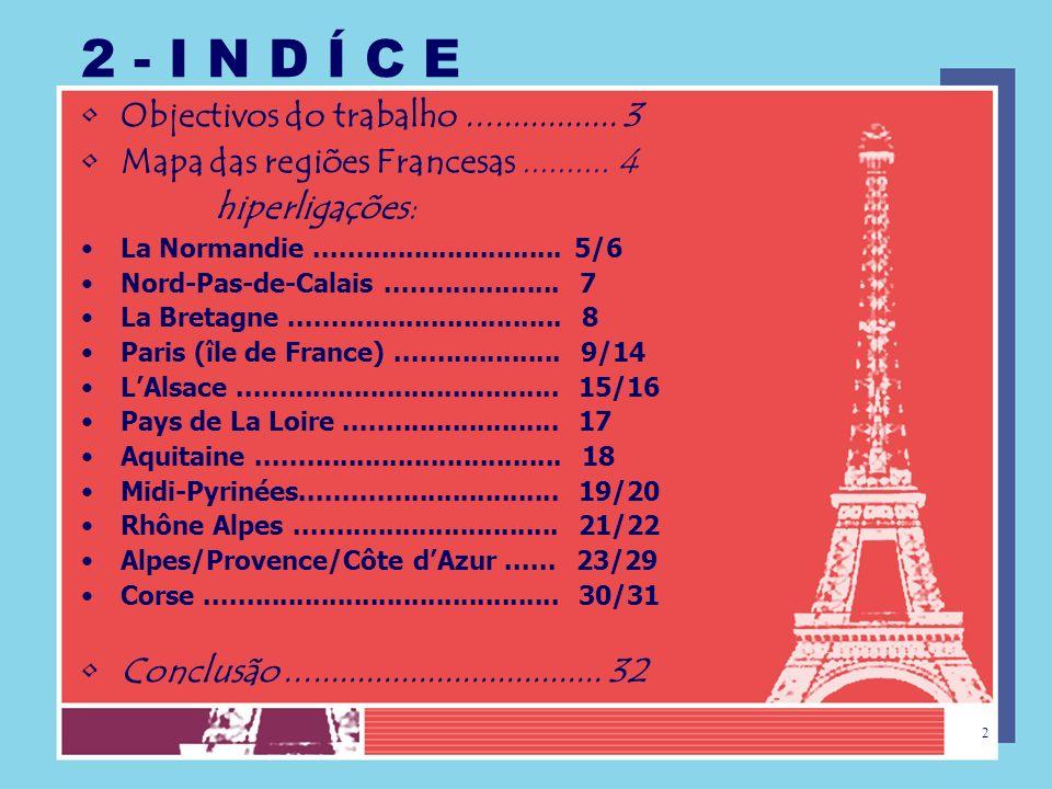 1 LA FRANCE EN IMAGES E.B.2,3 PADRE VÍTOR MELÍCIAS Anabela Reis / Francês 20.04.2006