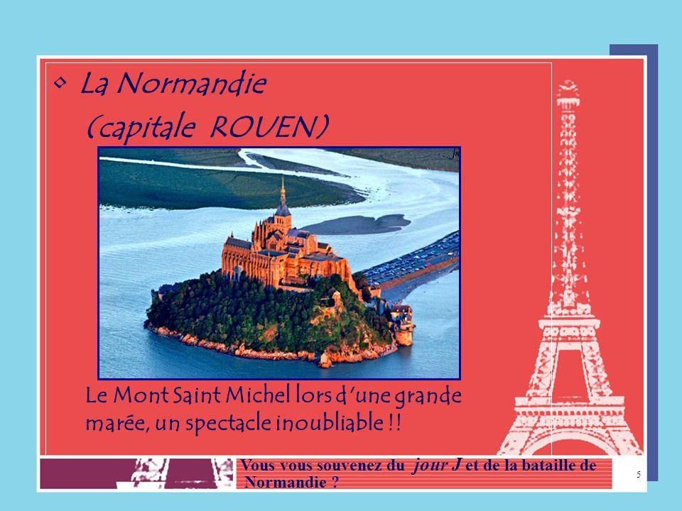 4 3 - LES RÉGIONS FRANÇAISES La France compte 22 Régions. Visitons quelques-unes de ces régions!