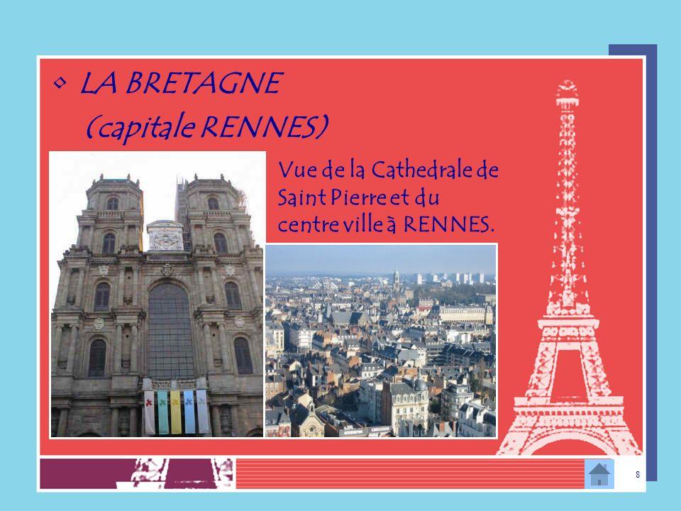 7 NORD-PAS-DE-CALAIS (Capitale LILLE) Le centre ville Place de La République LEurotunnel Liaison: Calais -Folkestone