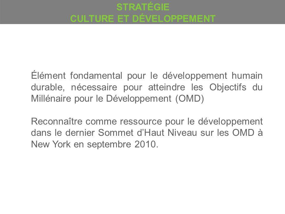 Élément fondamental pour le développement humain durable, nécessaire pour atteindre les Objectifs du Millénaire pour le Développement (OMD) Reconnaîtr