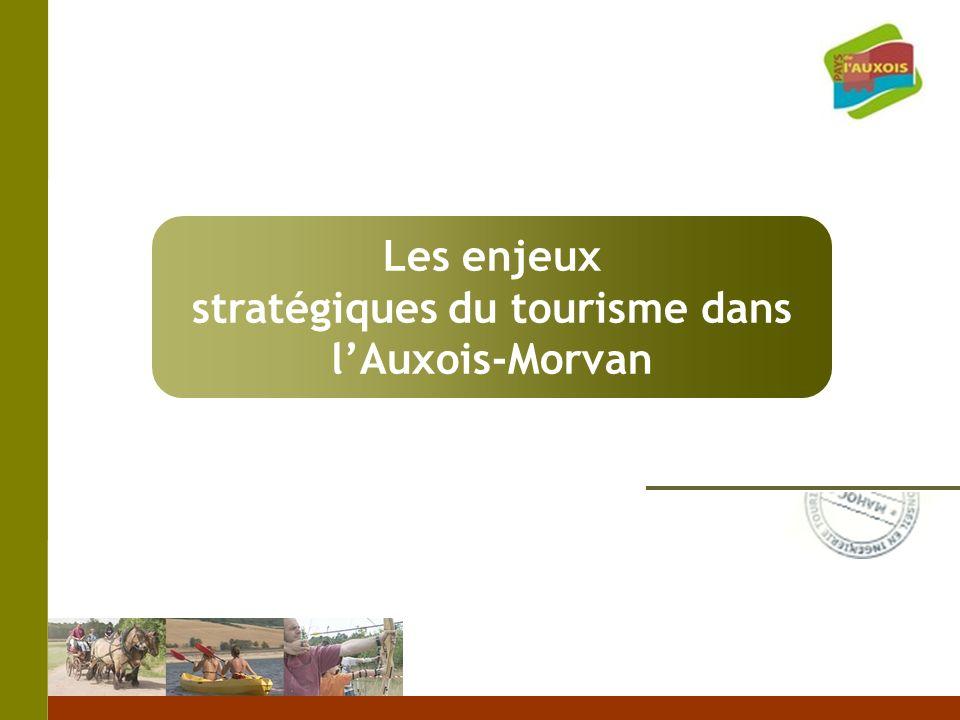 Les enjeux stratégiques du tourisme dans lAuxois-Morvan