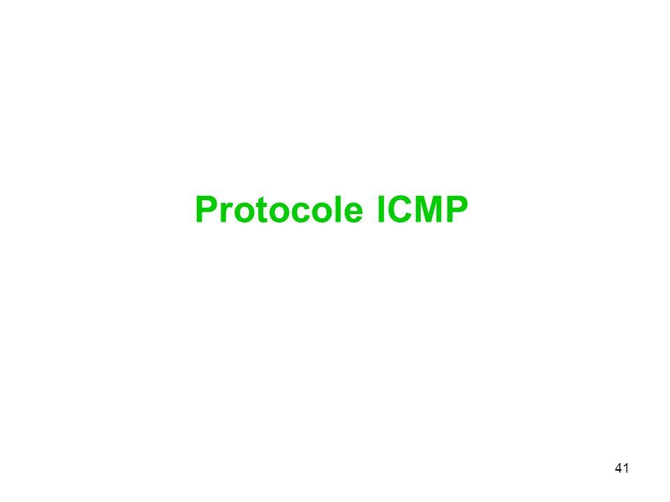 Protocole ICMP 41