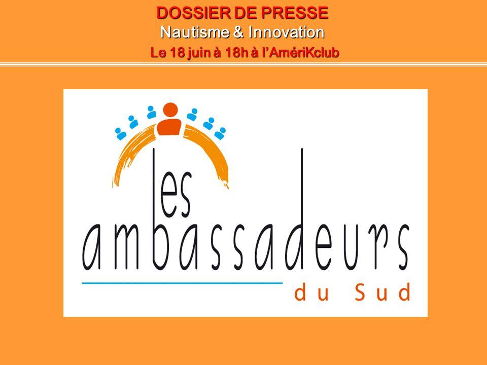 WORKSHOP 2008: Nautisme & Innovation Le(s) projet(s) innovant(s) Projets retenus pour leurs innovations: Monsieur N.