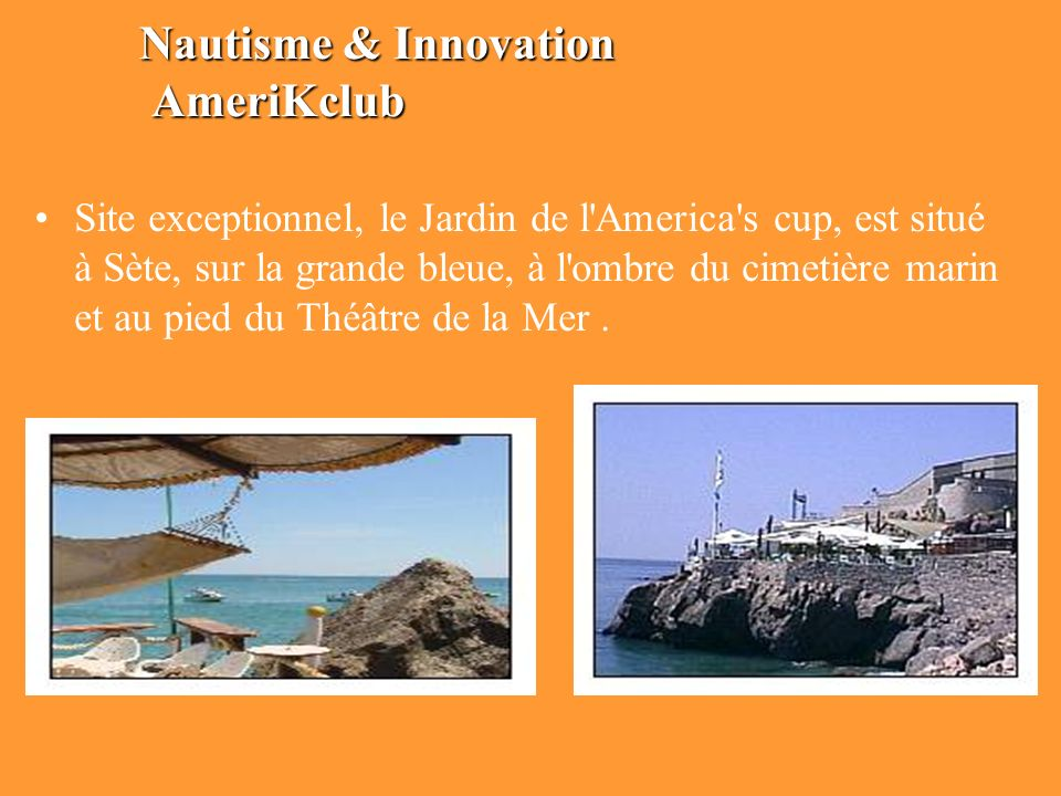 Nautisme & Innovation