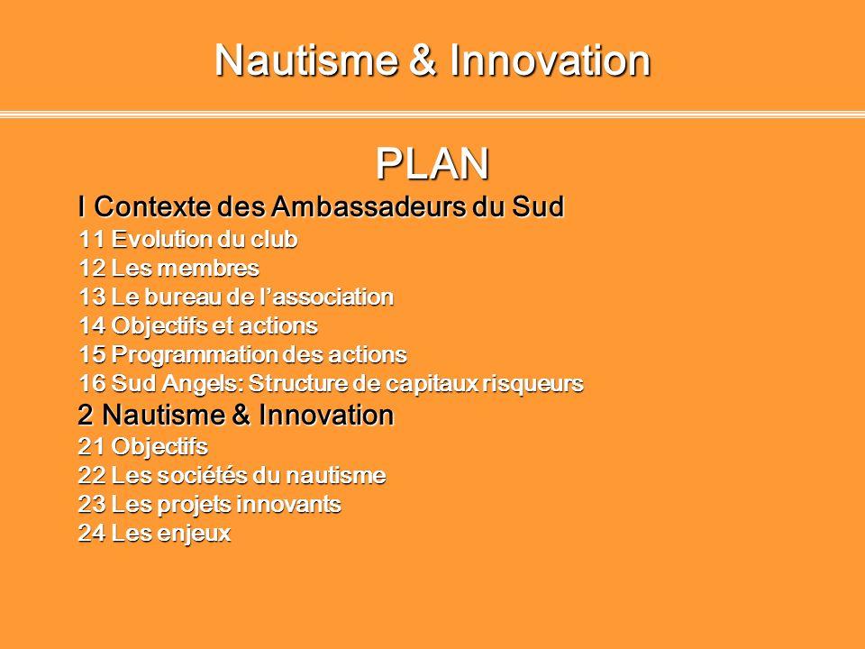 WORKSHOP 2008: Nautisme & Innovation Règlement du concours Rencontre entre porteurs de projets, professionnels du secteur, partenaires et business angels.
