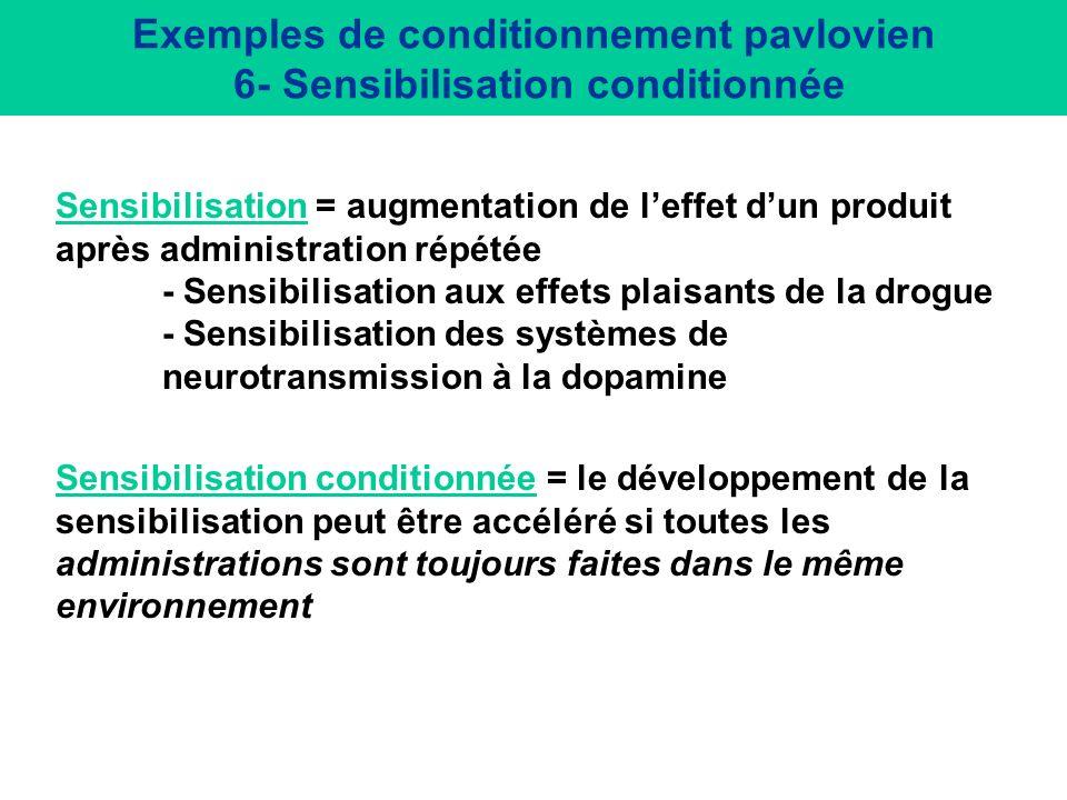 Tolérance aux effets de léthanol : rôle de l environnement Durée de la perte de réflexe (sec) Daprès Melchior et Tabakoff 1981; Crowell et al 1981 Cha
