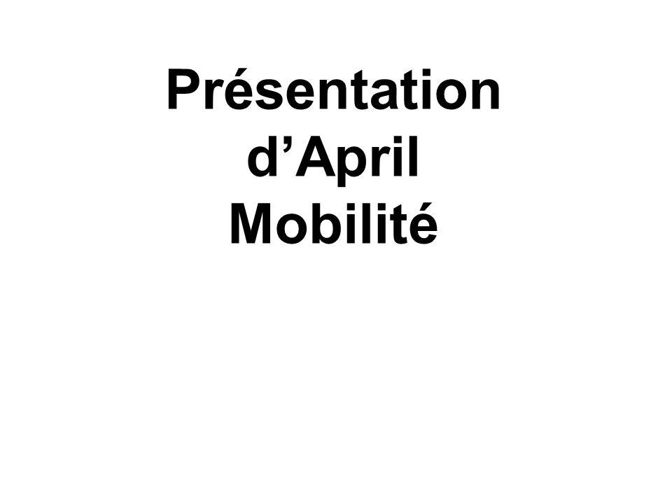 Présentation dApril Mobilité