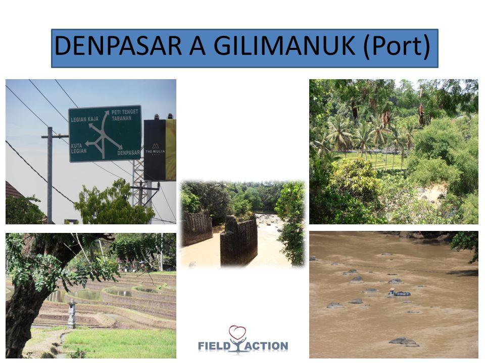DENPASAR A GILIMANUK (Port)