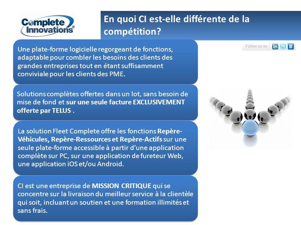 Une plate-forme logicielle regorgeant de fonctions, adaptable pour combler les besoins des clients des grandes entreprises tout en étant suffisamment conviviale pour les clients des PME.