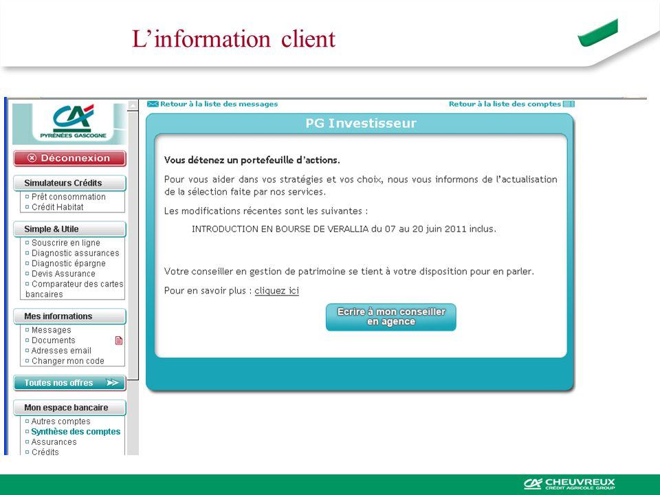 Linformation client