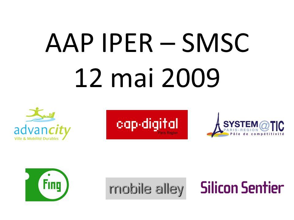 AAP IPER – SMSC 12 mai 2009