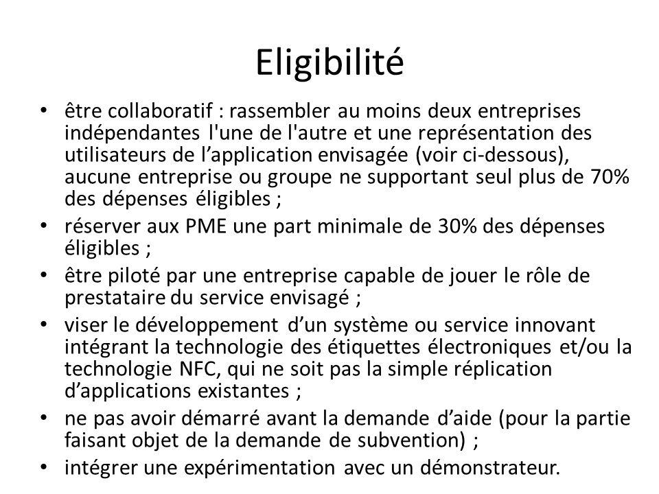 Critères de sélection (1/3) Le ministère a choisi de soutenir dans le cadre du présent appel des projets de R&D : – relativement proches des usages : on parle alors de « R&D dusage ».