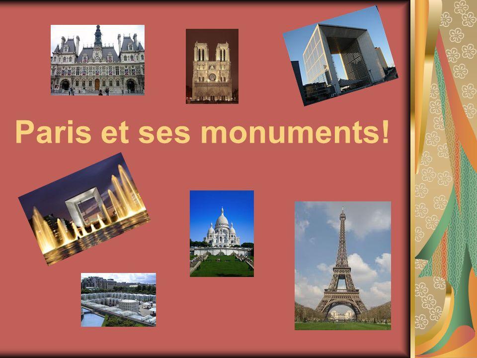 Paris et ses monuments!