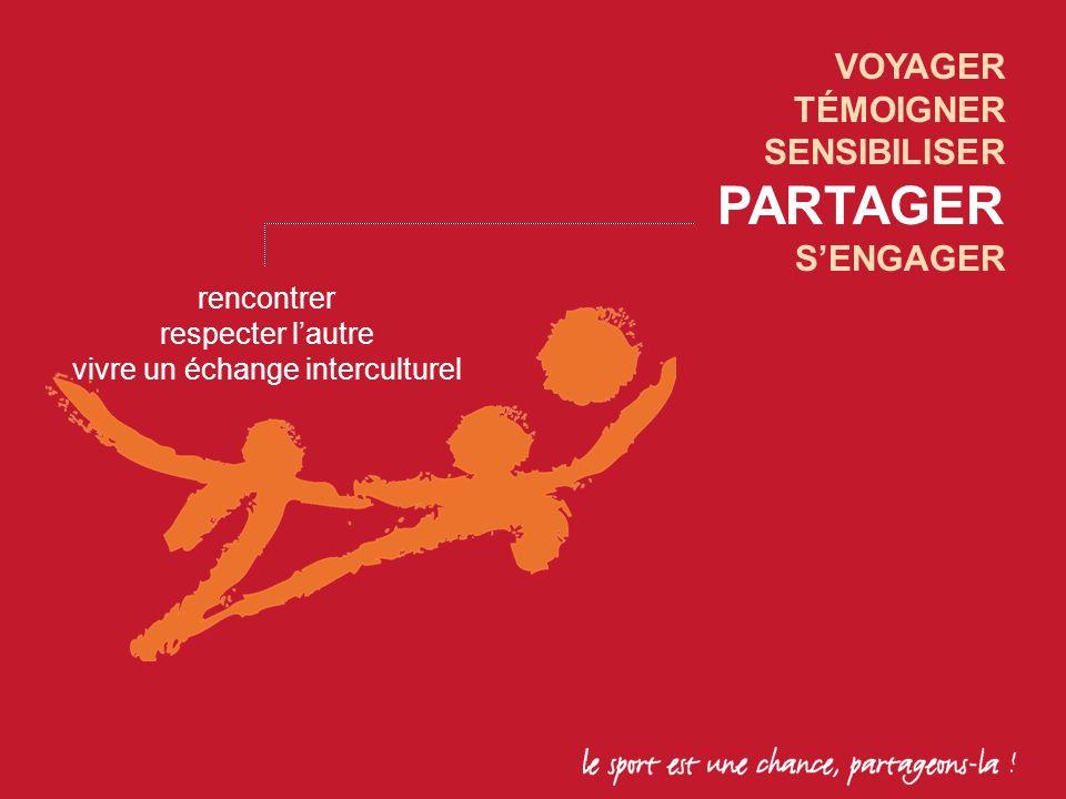 rencontrer respecter lautre vivre un échange interculturel VOYAGER TÉMOIGNER SENSIBILISER PARTAGER SENGAGER