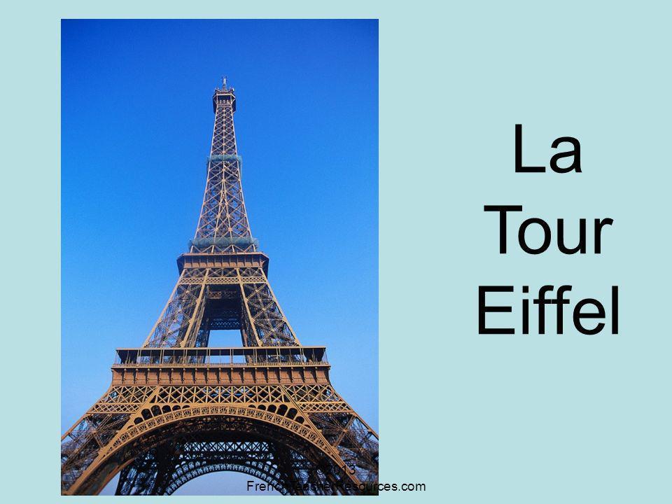 La Tour Eiffel ©2013 FrenchTeacherResources.com