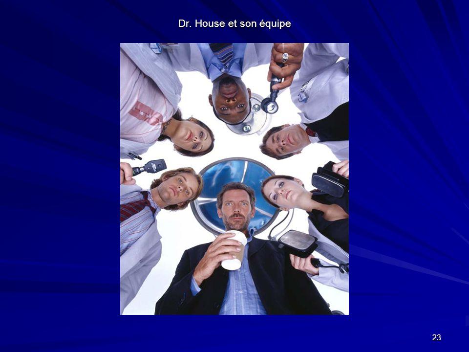 23 Dr. House et son équipe