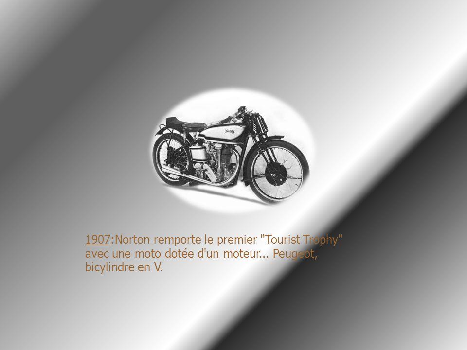 1907:Norton remporte le premier