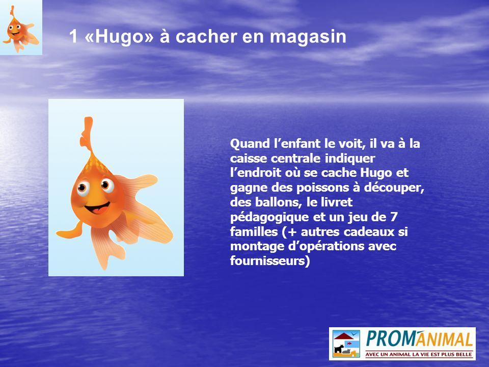 200 Ballons de Baudruche à leffigie dHugo Pour rendre le rayon aquariophilie plus festif et pour offrir aux enfants