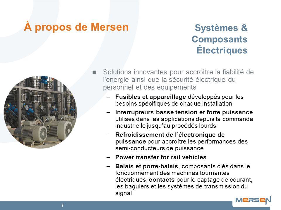 7 Systèmes & Composants Électriques Solutions innovantes pour accroître la fiabilité de lénergie ainsi que la sécurité électrique du personnel et des