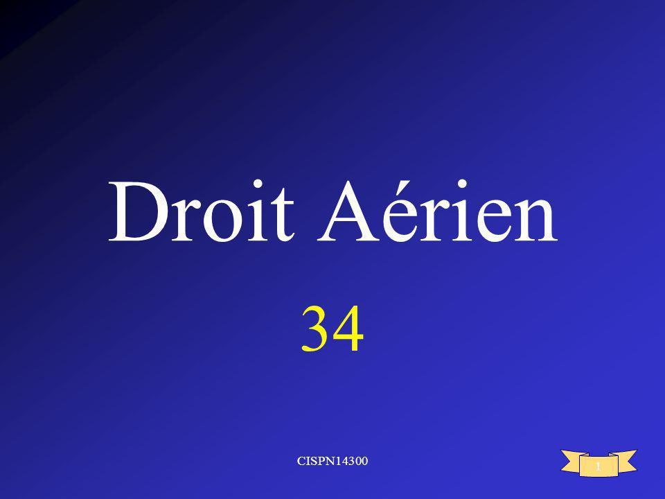 CISPN14300 1 Droit Aérien 34