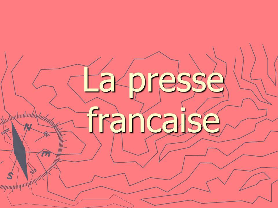 La presse francaise