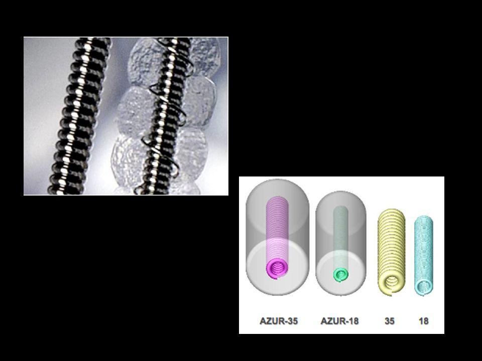Agents d embolisationR é sorptionTailles disponiblesFacilit é d utilisationCo û t Agents Particulaires Gelfoam24 h à qq joursNon calibr é + PVAPlusieurs mois Non calibr é Ou Sph é rique (100-1200 µ m) + Microsph è resnon100-1300 µ m+ Agents implantables Coilsnon Diam è tre 2 à 25 mm Longueur 5 à 500 mm Largage non contrôl é + Largage contrôl é +/- Plugs Stents couverts non Diam è tre 2,6 à 16 mm 3 à > 20 mm + Agents liquidesCyanoacrylatesnon-- Onyx (Copolym è re de PVA-DMSO) non -- < 25 < < 100 < < 250 < < 500 < < 1000 euro