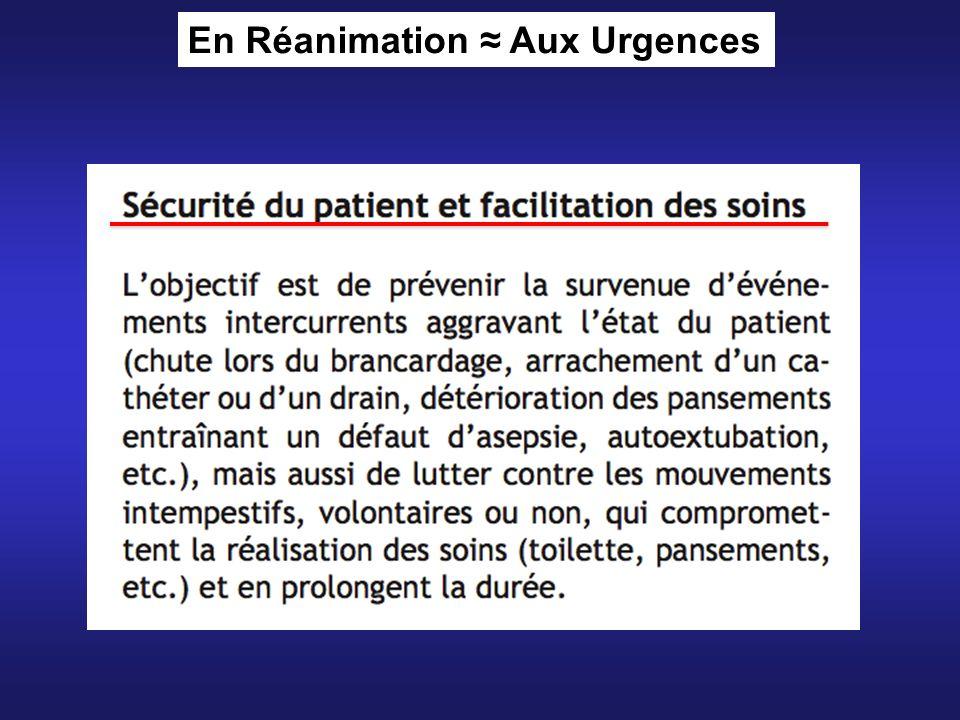 En Réanimation Aux Urgences
