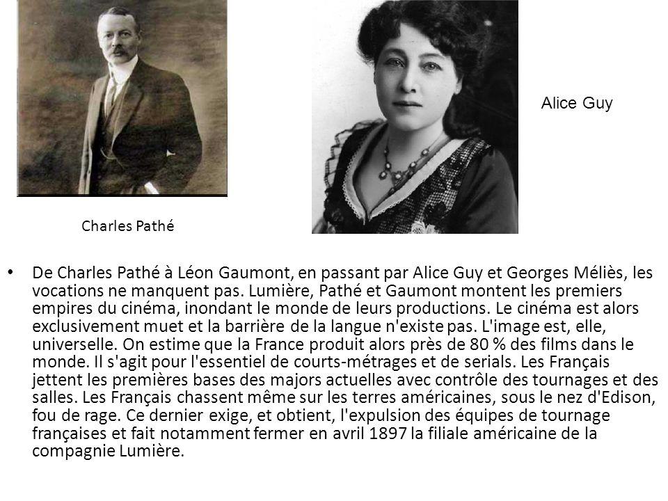 Charles Pathé De Charles Pathé à Léon Gaumont, en passant par Alice Guy et Georges Méliès, les vocations ne manquent pas. Lumière, Pathé et Gaumont mo