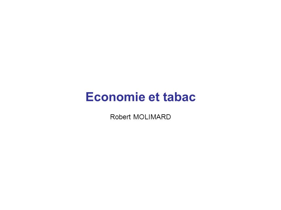 TabacAlcoolDrogues Illicites Total Coût Social (Millions ) 13607,1317595,802035,2433238,32 Part des substances 40,94%52,94%6,12%100% % du PIB1,10%1,42%0,16%2,68% Coût par habitant 231,87299,7634,67566,24 Résultats (francs transformés en euros) Cela ne prend en compte ni les souffrances, Ni les désastres sanitaires et sociaux créés par la pauvreté Ni les trafics et la délinquance Ni les 172 millions d Euros annuels pour dédommager les buralistes Pour la première fois en quatre ans, de janvier à mai 2006, les ventes de cigarettes, ont augmenté de 2,8 % en France par rapport à la même période de 2005...