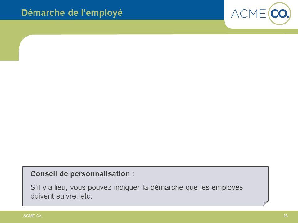 28 ACME Co.
