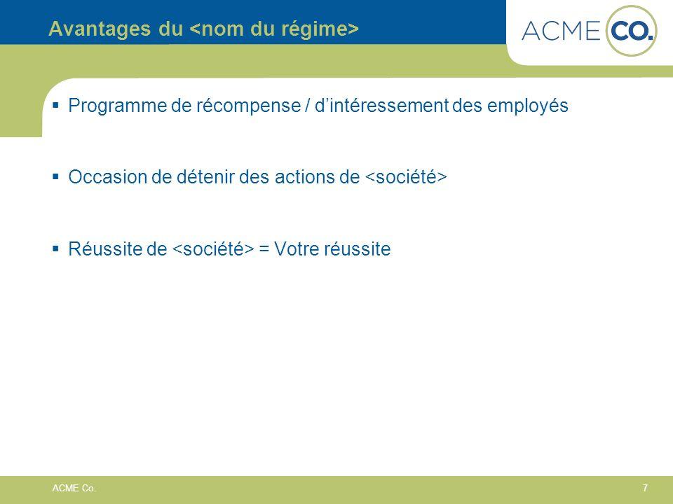 8 ACME Co.