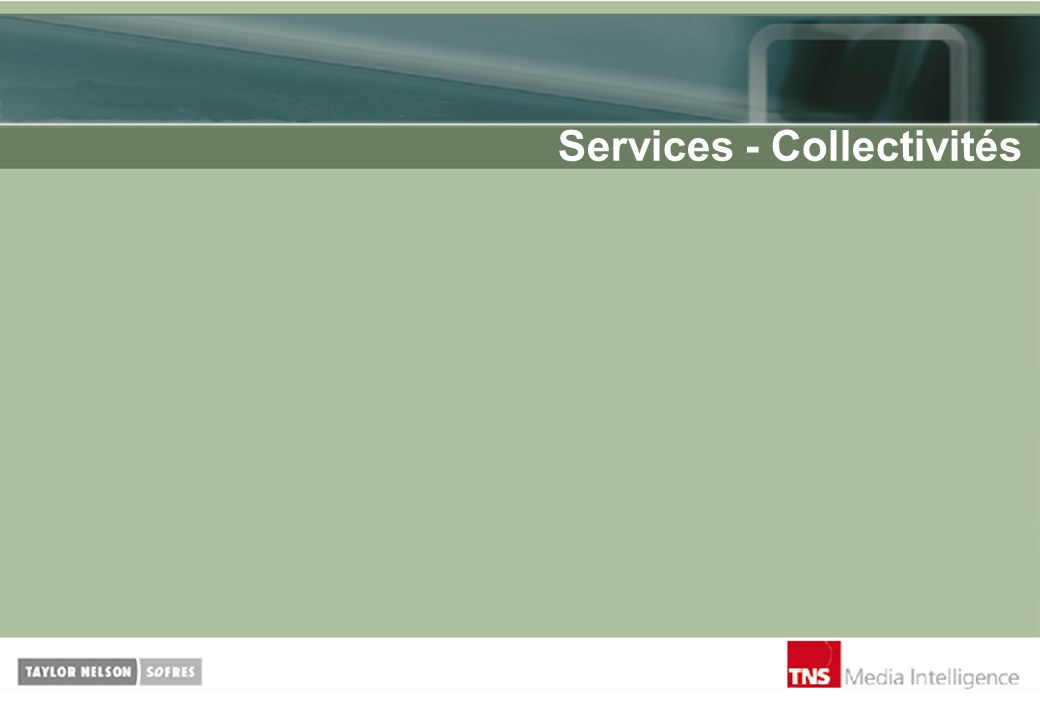 Services - Collectivités