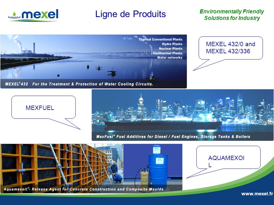 8 Environmentally Friendly Solutions for Industry MERCI POUR VOTRE ATTENTION