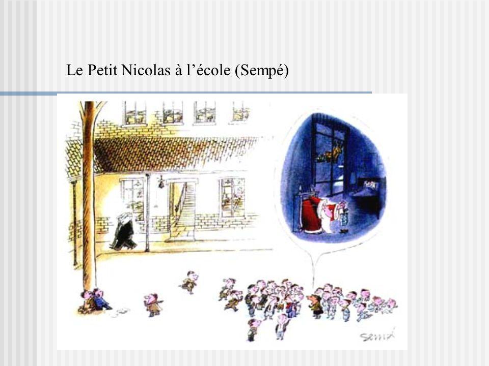 Le Petit Nicolas à lécole (Sempé)