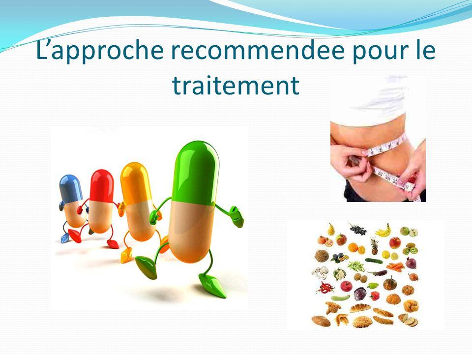 Lapproche recommendee pour le traitement