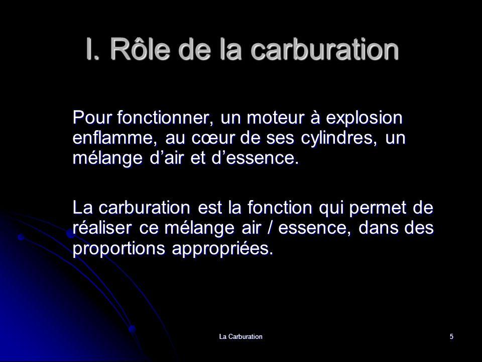 La Carburation6 I.