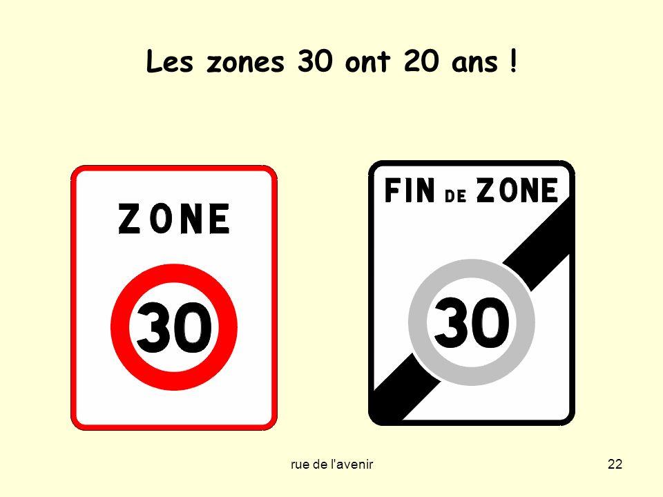rue de l'avenir22 Les zones 30 ont 20 ans !