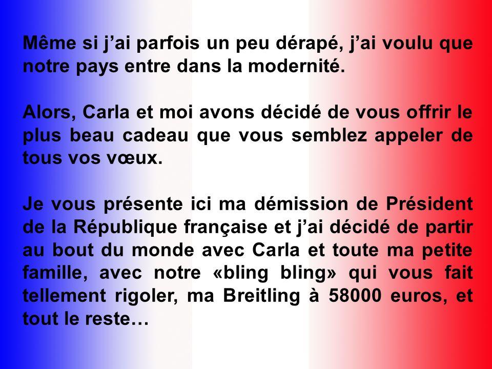 Françaises, Français, mes chers compatriotes, 2010 vient de débuter et lorsque je fais le bilan du temps écoulé, que je passe en revue tous les événem