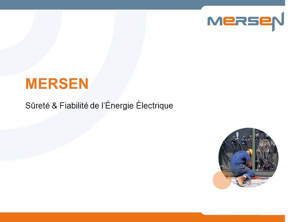 2 Mersen est un expert mondial des matériaux et équipements pour les environnements extrêmes, la sécurité et la fiabilité des équipements électriques.