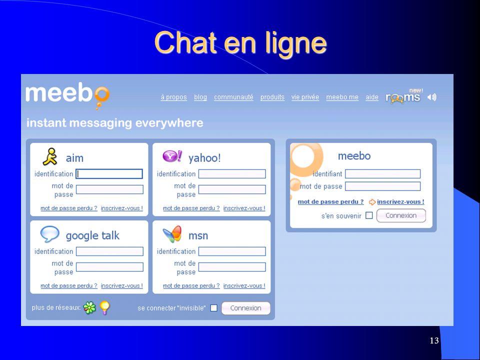 Chat en ligne 13