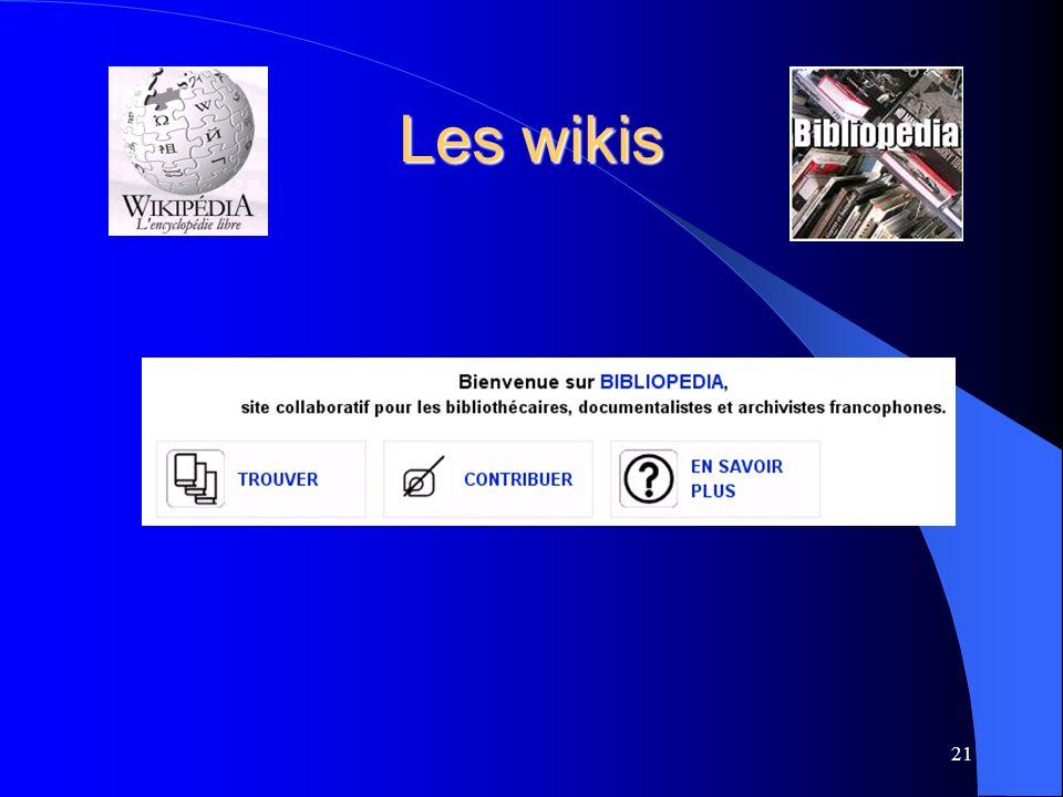 Les wikis 21