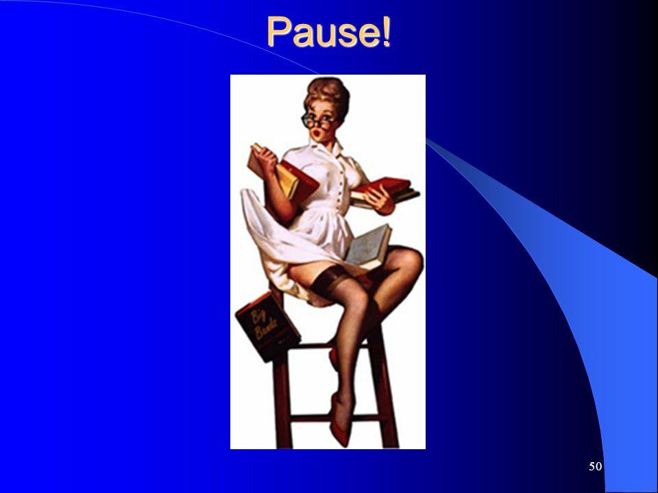 Pause! 50