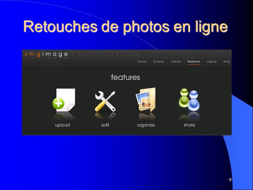 Retouches de photos en ligne 9
