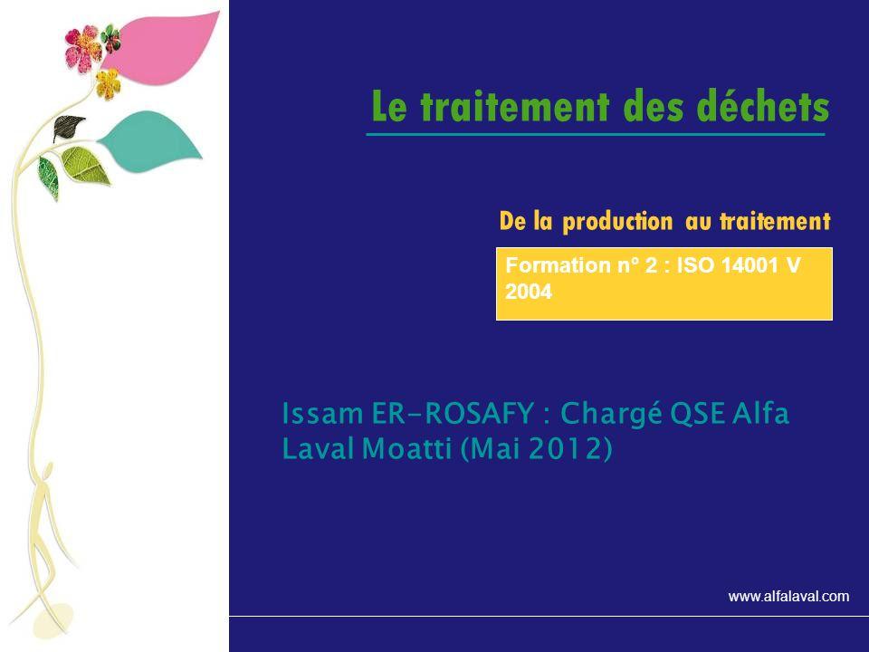 www.alfalaval.com Les emballages en nombre