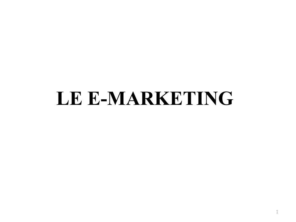 Introduction Le marketing a été l une des activités les plus touchées par le développement de l internet.