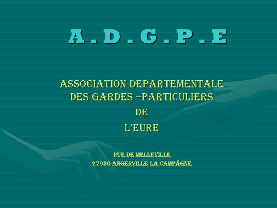 A.D. G. P. E A. D. G. P.