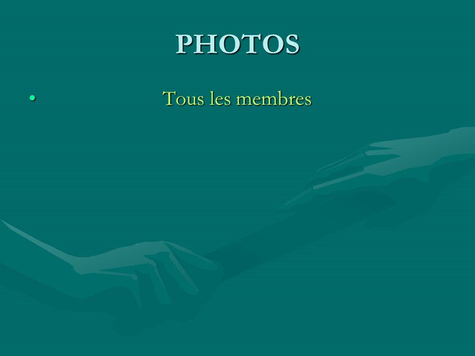 FINANCES Responsable = André SERVANT Membre Jean-Paul VALLEE